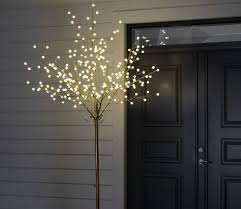 outdoor 250cm twig trees with cherry led lights gardensite co uk