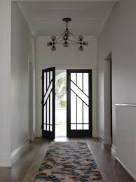 Floral Runner Rug Lovely Apartment Entrance Door Designs With Frosted Glass Inserts