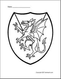 free knights castles kings queens dragon coloring pages