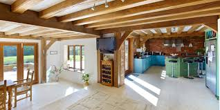 Village Home Design Oak Framing Designed To Fit Into Village Life