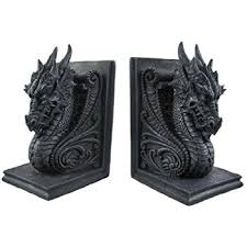 amazon com game of thrones dire wolf bookends accessory toys
