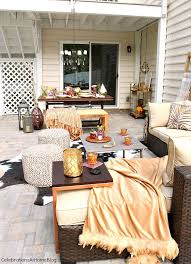 Fall Patio Fall Patio Decor For Entertaining Celebrations At Home