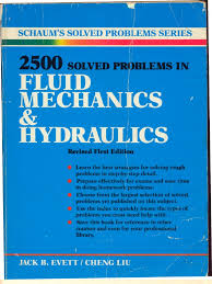 2 500 solved problems in fluid mechanics and hydraulics pdf