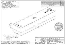 moeller 35 gal below deck fuel tank 032535