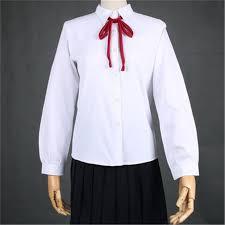 Seragam Sekolah Lengan Panjang 2017 jual jepang seragam jk kemeja putih lengan panjang seragam