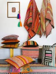 Colrful Decorative Throw Pillows Made From Peruvian Textiles - Home decor textiles