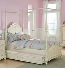 White Twin Bedroom Sets For Girls Extraordinary 80 Canopy Bedroom Sets Girls Design Ideas Of Best