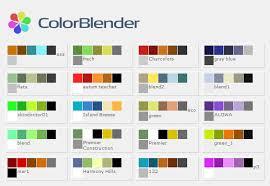 color scheme maker colorblender jpg 580 400 art pinterest generators