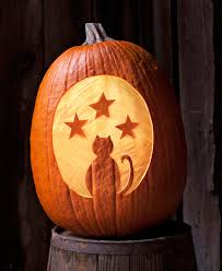 How To Make Halloween Pumpkins Last Longer - use a carving tool to make this pumpkin silhouette will last