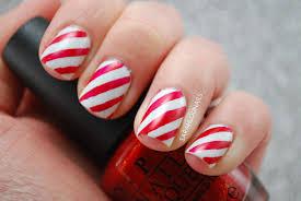 29 marvellous candy cane nail art u2013 slybury com