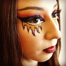 Pinterest Halloween Makeup Ideas by Halloween Costume Make Up 1000 Ideas About Easy Halloween Makeup