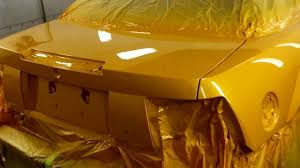 first mustang in the world with tangerine scream paint youtube