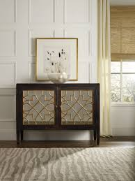 sanctuary 4 drawer console table hooker furniture living room sanctuary two door mirrored console