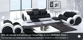 cdiscount canapé cuir discount canape cuir canapac 3 places pas cher achat canapac