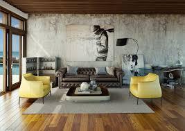 Urban Living Room Home Design Ideas - Urban living room design