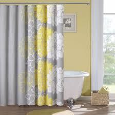 bathroom decorating ideas shower curtain subway tile entry