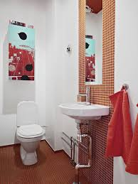 bathroom towel ideas contemporary bathroom ideas with red decorative towels using