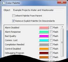 core configuration guide color palette define