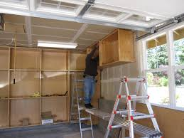 how to hang garage cabinets hanging garage cabinets edgarpoe net