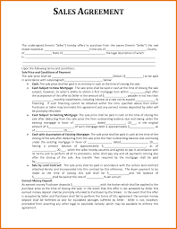 Real Estate Sales Agreement Template by 7 Sales Agreement Template Itinerary Template Sample
