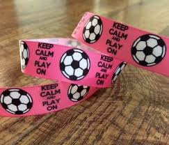bulk grosgrain ribbon 1 yard grosgrain ribbon 7 8 pink soccer ribbon hairbows bulk