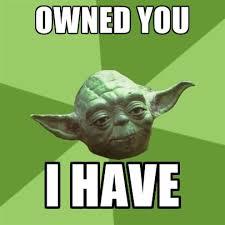 Owned Meme - advice yoda gives memes create meme