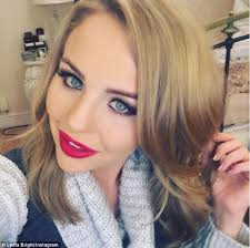 goldie locks hair extensions towie s lydia bright ditches hair extensions to reveal