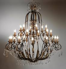 Classic Chandelier Classic Chandelier Wrought Iron Incandescent Bell