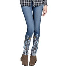 American Flag Skinny Jeans Miss Me Jeans Stages West