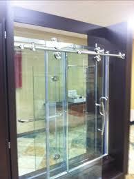 alumax shower door display