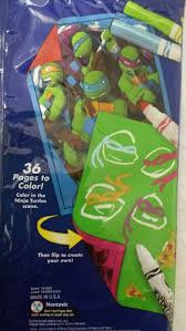 26pc crayola color explosion neon teenage mutant ninja turtles