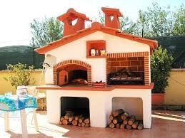 cottage prefabbricati forni a legna prefabbricati da giardino avec per il in muratura et