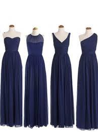 buy simple dress elegant a line floor length chiffon royal blue