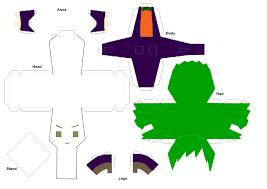 joker paper doll template by chibiaddict on deviantart