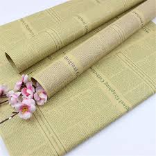 newspaper wrapping paper online shop vintage newspaper diy gift wrapping paper flower