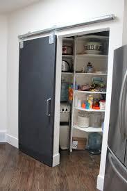 new pantry door installed