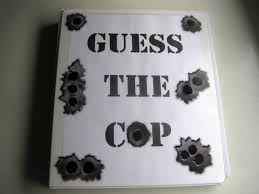 academy graduation party a guess the cop