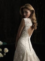 key back wedding dress free custom made fitted a line key back sleeves vintage lace