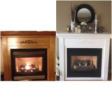 chalk paint fireplace facelift u2014 the penny drawer