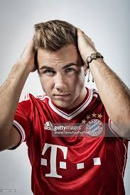 Mario Gotze Hairstyle Mario Gotze Fourfourtwo Uk February 1 2014 Photos And Images