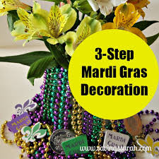 mardi gras decorations to make 3 step mardi gras decoration earning and saving with