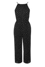 topshop jumpsuit spot pleated jumpsuit topshop
