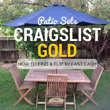 Craigslist Outdoor Patio Furniture by Mimiberry Creations June 2016
