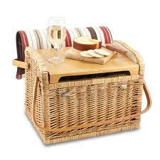 wine picnic baskets kabrio wine basket moka collection