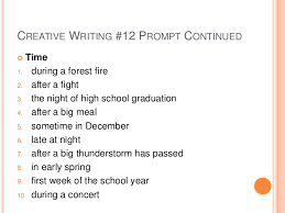Free Creative Writing Prompts      Dreams