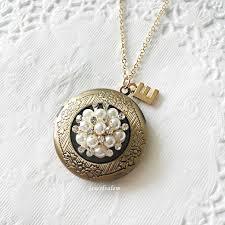 custom locket necklace locket customised locket necklace vintage lockets wedding