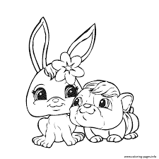 littlest pet shop coloring pages free download printable