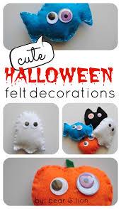 cute halloween felt decorations