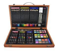 art kit essentials colored pencils paper sketchbooks culbi