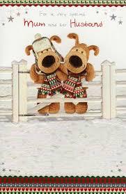 boofle to mum u0026 her husband christmas card cards love kates